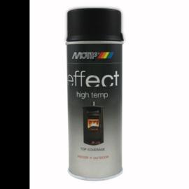 Motip Deco Effect Hittebestendig Zwart 400 ml