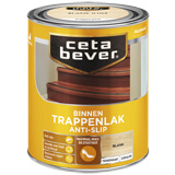 CetaBever Trappenlak Anti-Slip Zijdeglans Blank Transparant 2.5 liter