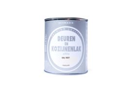Hermadix Deuren en Kozijnenlak Ral 9001 Zijdeglans 750 ml