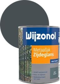 Wijzonol Metaallak Zijdeglans Antraciet 9121 750 ml