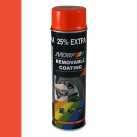 Motip Removable Coating Oranje 500 ml