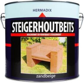 Hermadix Steigerhoutbeits Zandbeige 2,5 liter