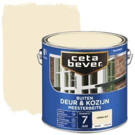 CetaBever Meesterbeits Deur en Kozijn Creme Wit 2,5 liter