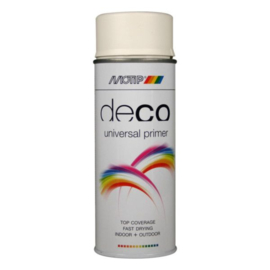 Motip Deco Paint Primer Wit 400 ml
