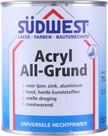 Sudwest Acryl Allgrund U51 Wit 750 ml