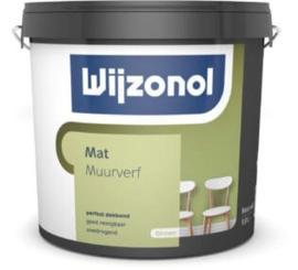 Wijzonol Muurverf Mat 1 liter