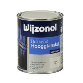 Wijzonol Dekkend Hoogglans Ral 9001 750 ml