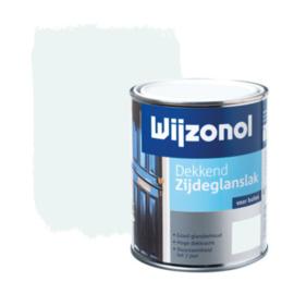 Wijzonol Dekkend Zijdeglans IJswit 9100 750 ml