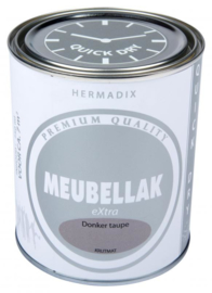 Hermadix Meubbellak Extra Donker Taupe Krijtmat 750 ml
