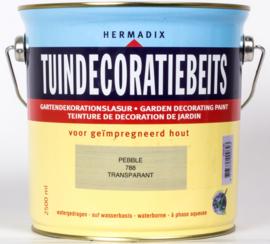 Hermadix Tuindecoratiebeits Transparant Pebble 788 2,5 liter