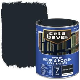 CetaBever Meesterbeits Deur en Kozijn Bretons Blauw 750 ml