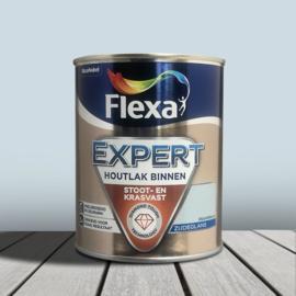 Flexa Expert Houtlak Binnen Zijdeglans Dauwblauw 750 ml