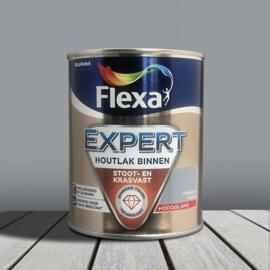 Flexa Expert Houtlak Binnen Hoogglans Grijsblauw FE205 750 ml