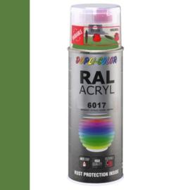 Dupli-Color Ral Acryl Ral 6017 Mei groen Hoogglans 400 ml