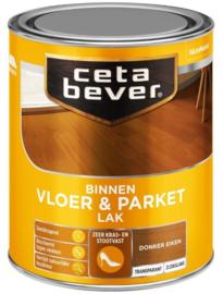 CetaBever Vloer en Parketlak Zijdeglans Donker Eiken 750 ml