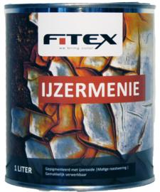 Fitex IJzermenie Roodbruin 1 liter