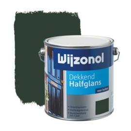 Wijzonol Dekkend Halfglans Woudgroen 9325 2,5 liter