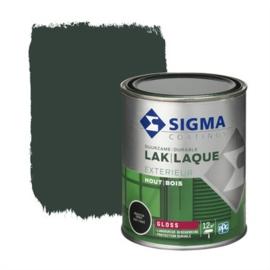 Sigma Exterieur Lak Hoogglans Grachtengroen 750 ml