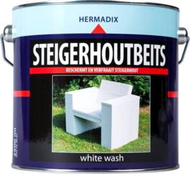 Hermadix Steigerhoutbeits White Wash 2,5 liter