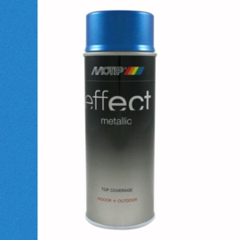 Motip Deco Effect Metallic Blauw 400 ml
