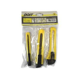 DO-IT 3-Delige Afbreekmessen Set