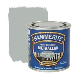 Hammerite Metaallak Grijs S018 Hoogglans 250 ml
