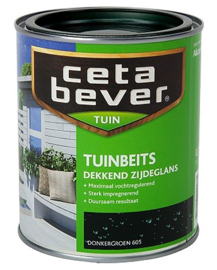CetaBever Tuinbeits Donkergroen 605 750 ml