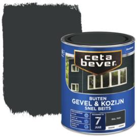 CetaBever Snelbeits Dekkend Ral 7021 Zijdemat 750 ml