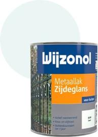 Wijzonol Metaallak Zijdeglans IJswit 9100 750 ml