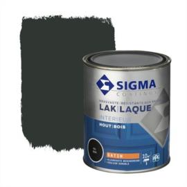 Sigma Interieur Lak Zijdeglans Ral 9005 750 ml