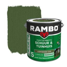Rambo Pantserbeits Schuur en Tuinhuis Transparant