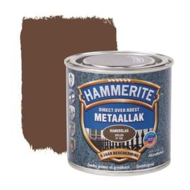 Hammerite Metaallak Bruin H150 Hamerslag 250 ml