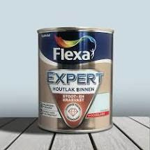 Flexa Expert Houtlak Binnen Hoogglans Dauwblauw 750 ml