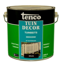 Tenco Tuindecor Dekkend Bruin 2,5 liter