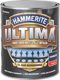 Hammerite Ultima Metaallak Hoogglans Standblauw 750 ml