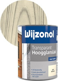 Wijzonol Transparant Hoogglanslak Whitewash 3155 750 ml