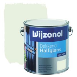 Wijzonol Dekkend Halfglans Ral 9010 2,5 liter