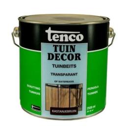 Tenco Tuindecor Transparant Kastanjebruin 2,5 liter