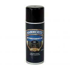 Hammerite Hittebestendige lak Zwart Mat Spuitbus 400 ml