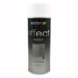 Motip Deco Effect Radiatorspray Wit Hoogglans 400 ml