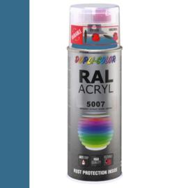 Dupli-Color Ral Acryl Ral 5007 Briljant blauw Hoogglans 400 ml