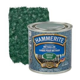 Hammerite Metaallak Donkergroen H138 Hamerslag 250 ml