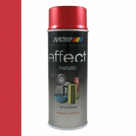 Motip Deco Effect Metallic Rood 400 ml