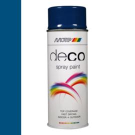 Motip Deco Paint Ral 5010 Enzian Blauw  Hoogglans 400 ml