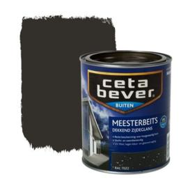 CetaBever Meesterbeits Zijdeglans Ral 7022 750 ml