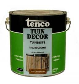 Tenco Tuindecor Transparant Natuurbruin 2,5 liter