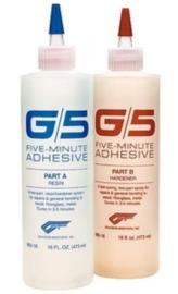 West System G5 - 5 minuten Epoxylijm 200 gram
