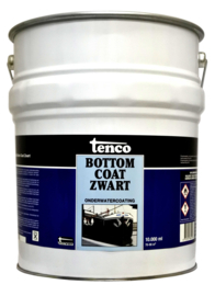 Tenco Bottomcoat Zwart 10 liter