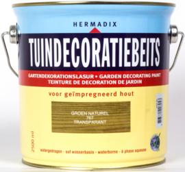 Hermadix Tuindecoratiebeits Transparant Groen Naturel 767 2,5 liter