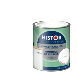 Histor Perfect Finish Keukenkastjes lak Hoogglans Wit 750 ml